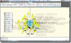 AutoCAD 2009 Lightening Bolts Before