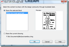 AutoCAD 2010 Share Block with Seek