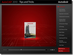 AutoCAd 2010 Tips and Tricks Screencast