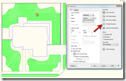 Using the AutoCAD Hatch Edit dialog.