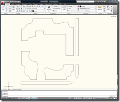 Newly Created Grass Boundary Polylines in AutoCAD 2010