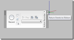 AutoCAD 2010 Return Panel to Ribbon