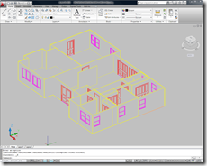 Autodesk Project Dragonfly Export 3D Structure Only Option DWG file in AutoCAD 2010