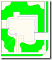 AutoCAD Hatch object of the 6 Grass Regions