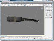 Salt Lake City Library SketchUp Model imported into Autodesk 3ds Max Design 2010