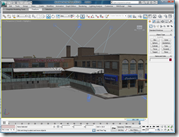 Caputos Market SketchUp Model imported and imported 3ds Max Design 2010