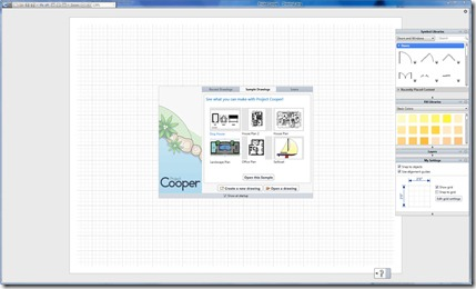 Project Cooper Sketching UI