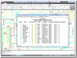 AutoCAD Plugin of the Month December ~ Layer Reporter for AutoCAD
