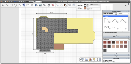 AutoCAD Freestyle Technology Preview Drawing