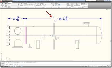 AutoCAD Jogged Dimension