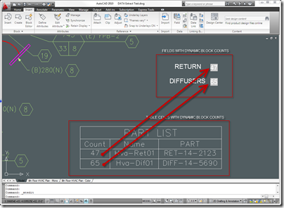 AutoCAD 2010 Tip: Count Blocks with a Field