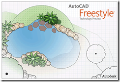 AutoCAD Freestyle Technology Preview Splash