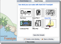 AutoCAD Freestyle on Open