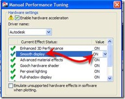 AutoCAD 2011 Manual Performance Tuning
