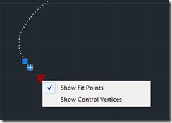 AutoCAD 2011 Spline options