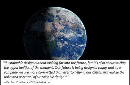 Carl Bass Autodesk CEO Quote on Sustainable Design