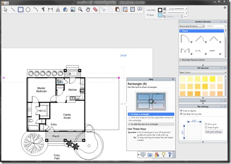 AutoCAD Freestyle interface