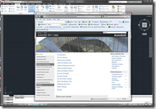AutoCAD 2011 Online HTML Based Help System