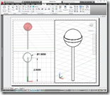 AutoCAD 2011 Designed Sweet Candy Lollipop