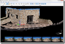 Photo Scene Editor with 3D building from Gates Pass Tucson