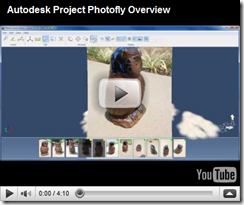 YouTube Video from Donnie Gladfelter on Photofly