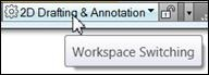 AutoCAD Workspace Switching
