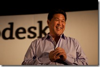 Ron Okamoto VP of Apple is excited about AutoCAD coming to Apple products.