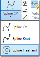 AutoCAD 2011 Spline Freehand