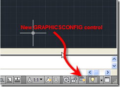 AutoCAD 2011 New GRAPHICSCONFIG Control