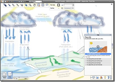 AutoCAD Freestyle Update w Sketch Overlay