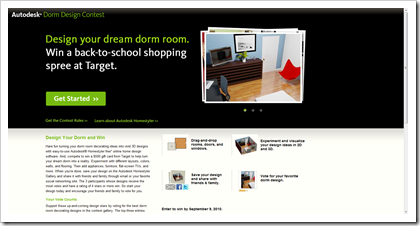 Autodesk Dorm Design Contest