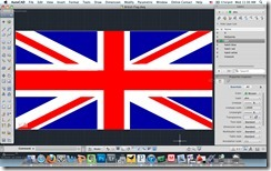 AutoCAD for Mac British Flag DWG by Shaan