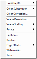 Snagit Conversion Filters