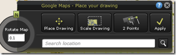 Place AutoCAD Drawing on Google Map in AutoCAD WS