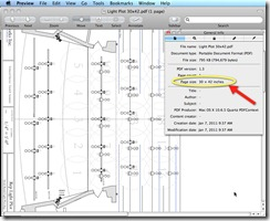 AutoCAD for Mac Created PDF