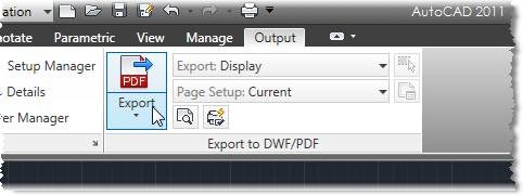 How to create a PDF from AutoCAD with a Single Click