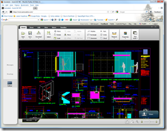 AutoCAD WS in a browser
