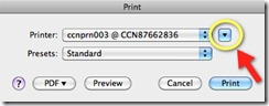 AutoCAD for Mac Print Dialog