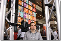 Autodesk's Jason Medal-Katz gets his head scanned to 3D at TED2011