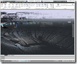 3D Laser Scan Point Cloud in AutoCAD 2012