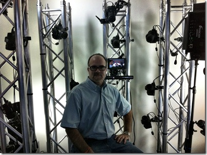 Shaan Hurley in the new Autodesk Project Photofly Photo Booth