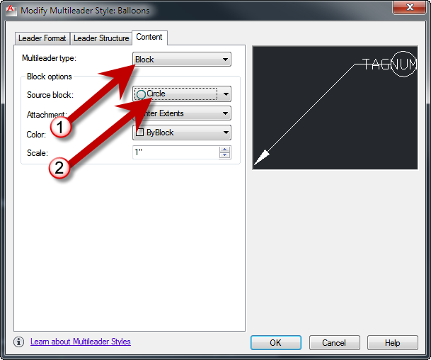 AutoCAD 2012 Balloon Tricks (Between the Lines)