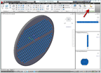AutoCAD 2012 and the Edit in Fusion option  on the Ribbon when selecting a solid