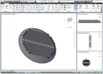 Modified solid returned to AutoCAD from Fusion