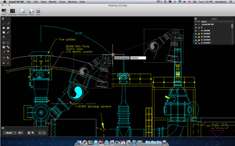 AutoCAD WS for Mac