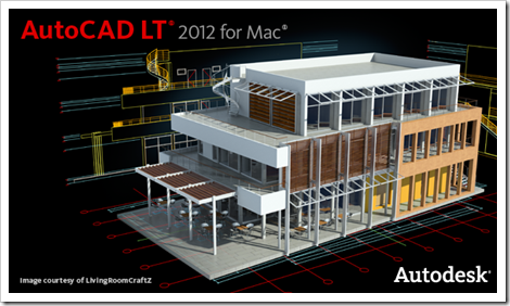AutoCAD LT 2012 for Mac Splash