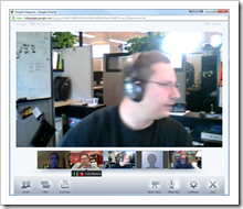 James Small in Google+ Hangout Session
