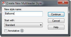 Set Mleader Style - AutoCAD Multileader Style Manager