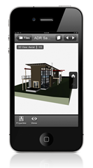 Autodesk Design Review mobile - 3D DWF File on iPhone
