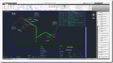 Another isometric drawing generated by AutoCAD Isometrics WS